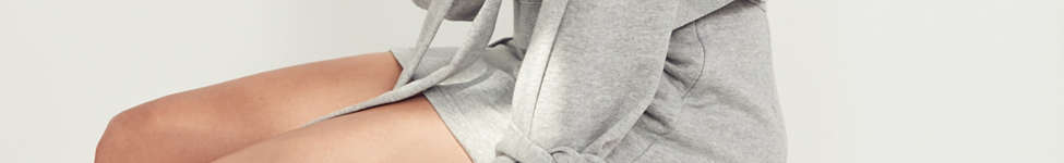 Thumbnail View 3: J.O.A. Crew-Neck Tie-Sleeve Sweatshirt