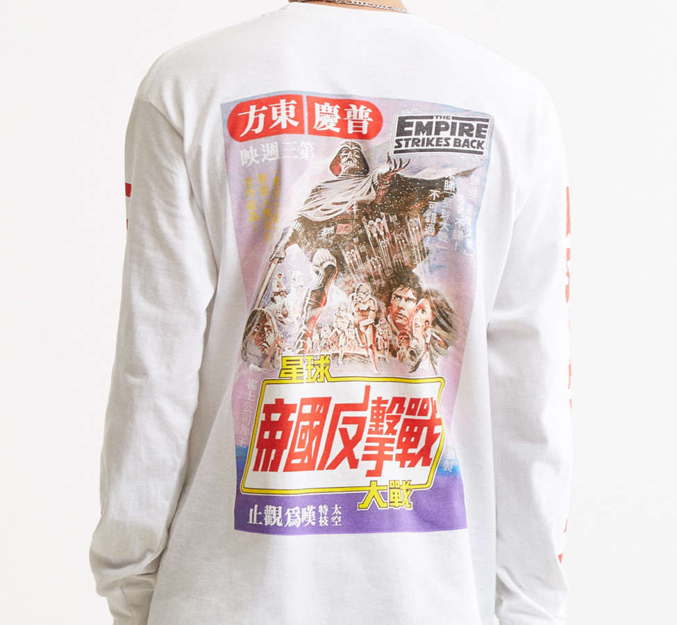 Slide View: 2: Star Wars Long Sleeve Tee