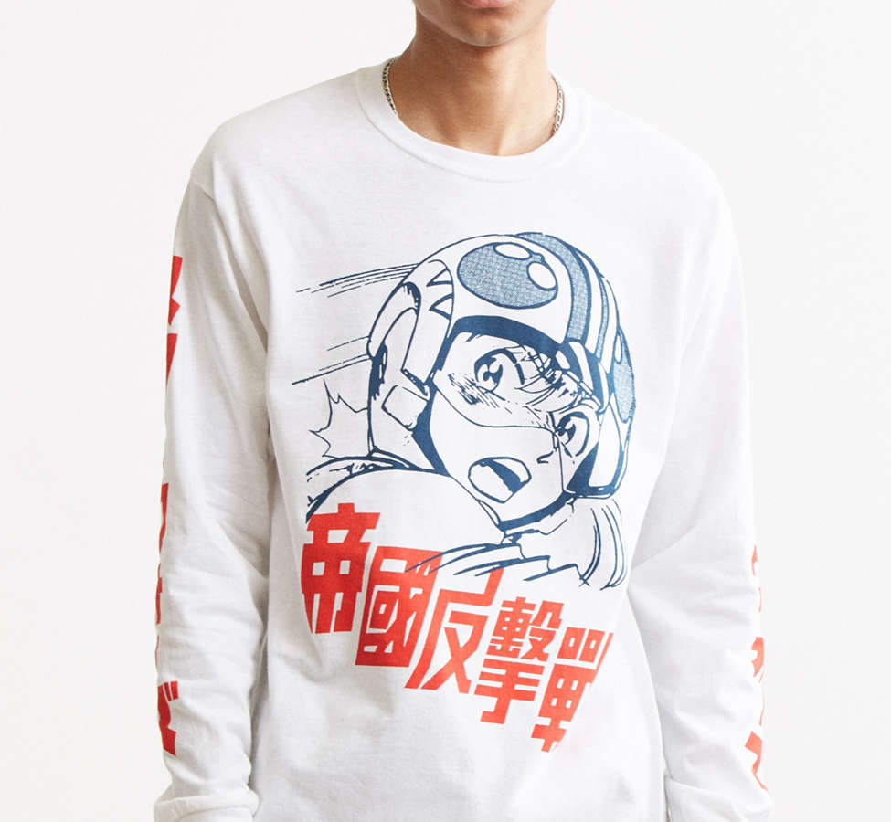 Slide View: 3: Star Wars Long Sleeve Tee