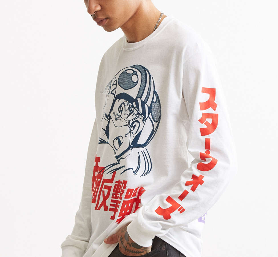 Slide View: 4: Star Wars Long Sleeve Tee