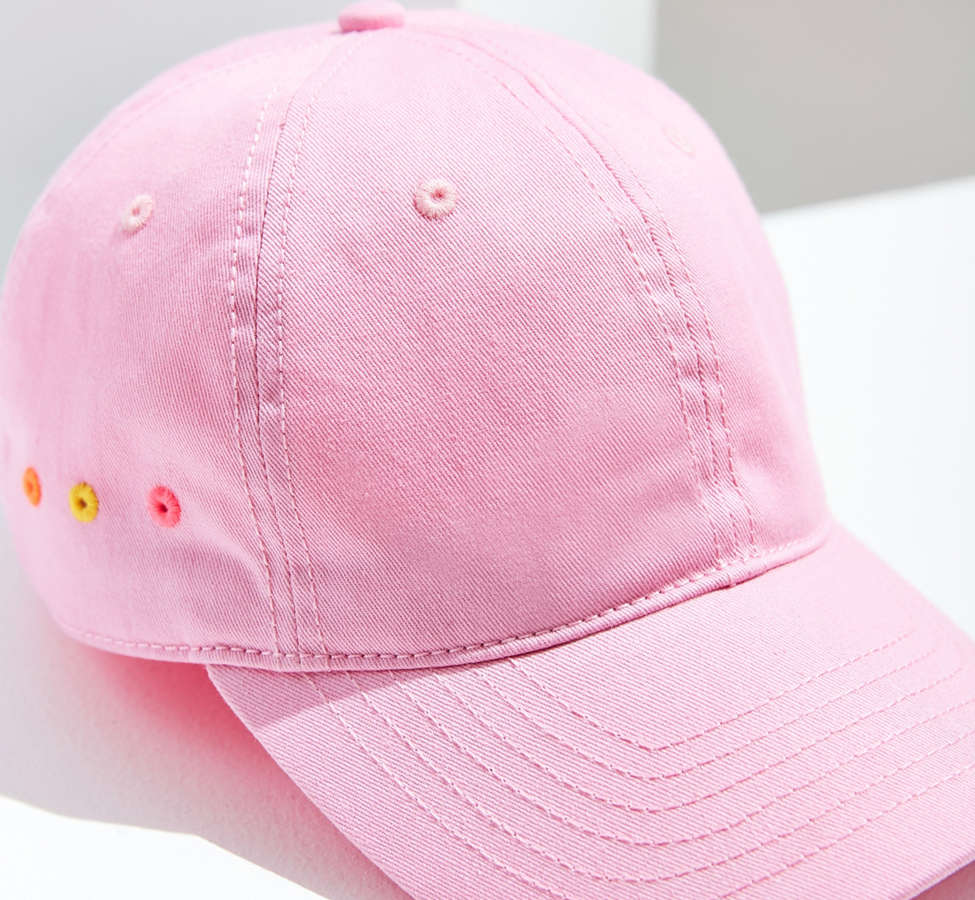 Slide View: 3: Contrast Grommet Baseball Hat