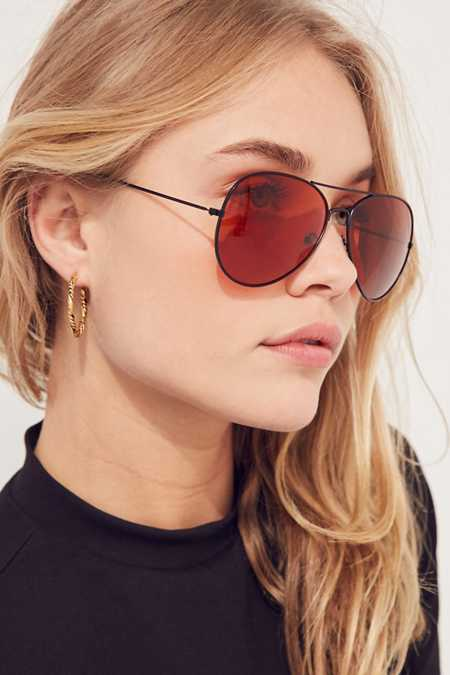 Vintage Filter Aviator Sunglasses