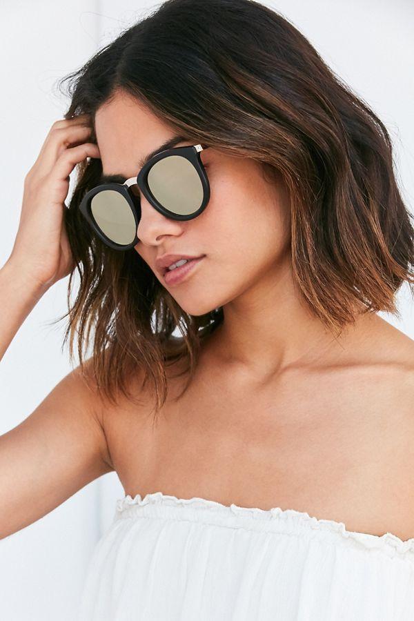 5fa0c5a9b3c Le Specs No Smirking Round Sunglasses