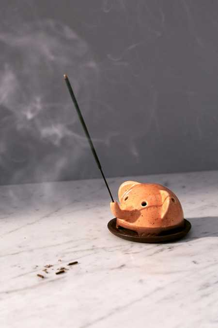 Ellie The Elephant Incense Holder