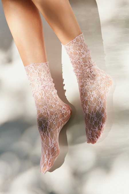 Out From Under Lace Mid-Calf Sock