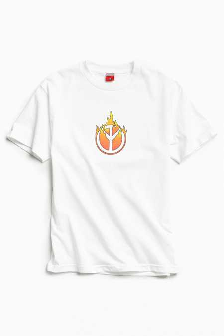 Disobedient Peace On Fire Tee