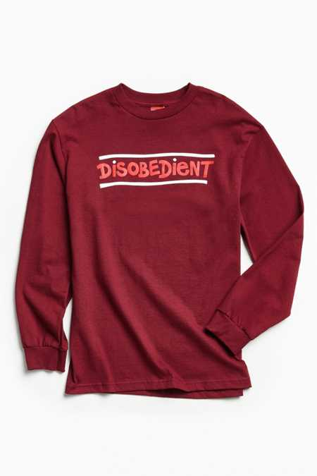 Disobedient Long Sleeve Tee