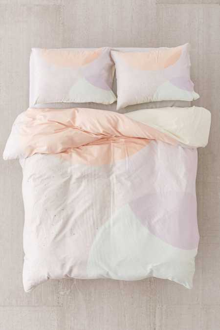 Iveta Abolina For DENY Peach Cobbler Duvet Cover