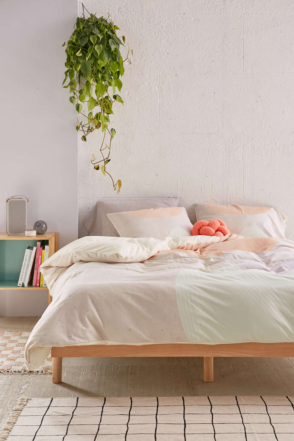 Slide View: 2: Iveta Abolina For DENY Peach Cobbler Duvet Cover