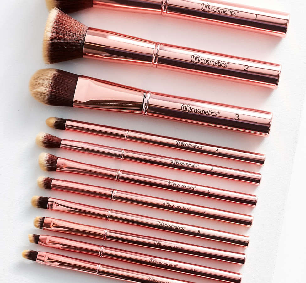 Slide View: 1: bh cosmetics 11 Piece Makeup Brush Set