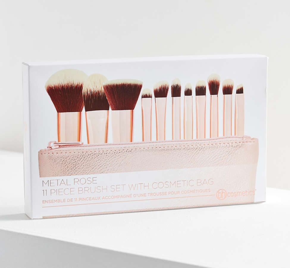 Slide View: 4: bh cosmetics 11 Piece Makeup Brush Set