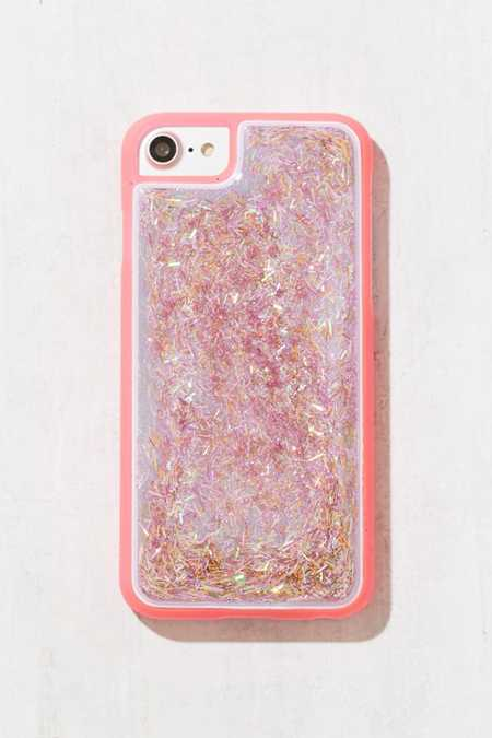 Neon Pink Squishy Glitter iPhone 6/7 Case