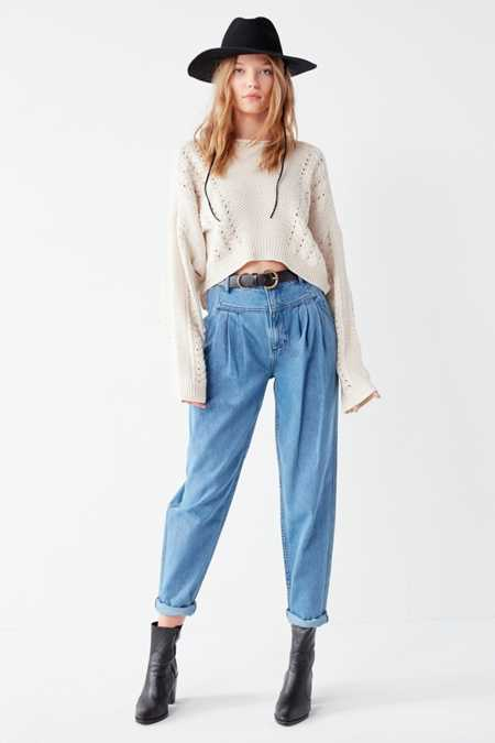 BDG High-Rise Carrot Jean