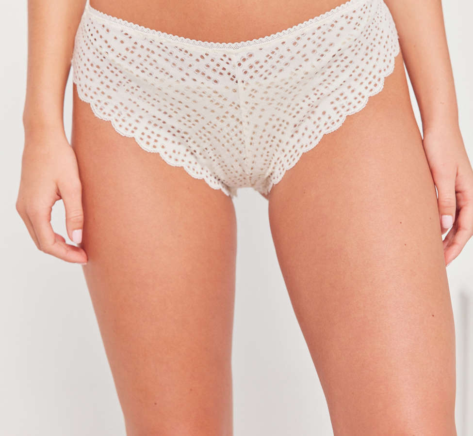Slide View: 3: Out From Under Geo Lace Tanga