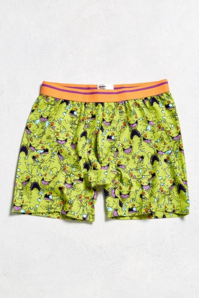 Reptar Boxer Brief - Green S at Urban Outfitters