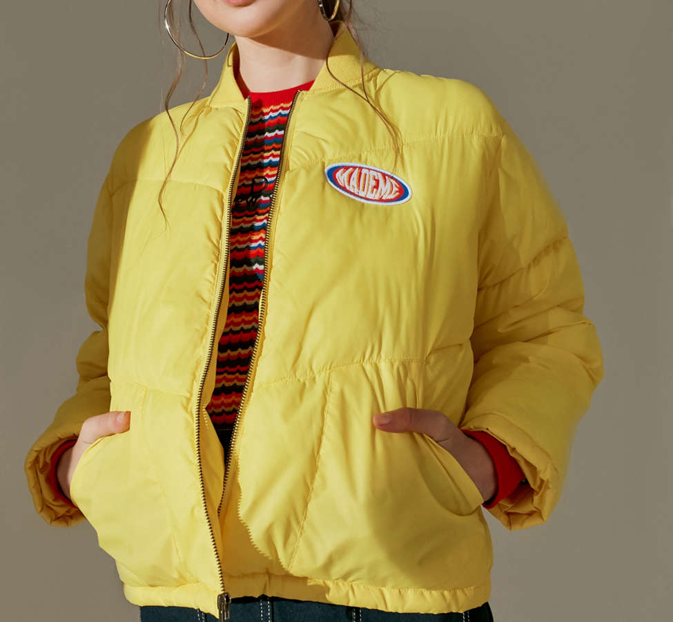Slide View: 1: MadeMe Puffer Bomber Jacket