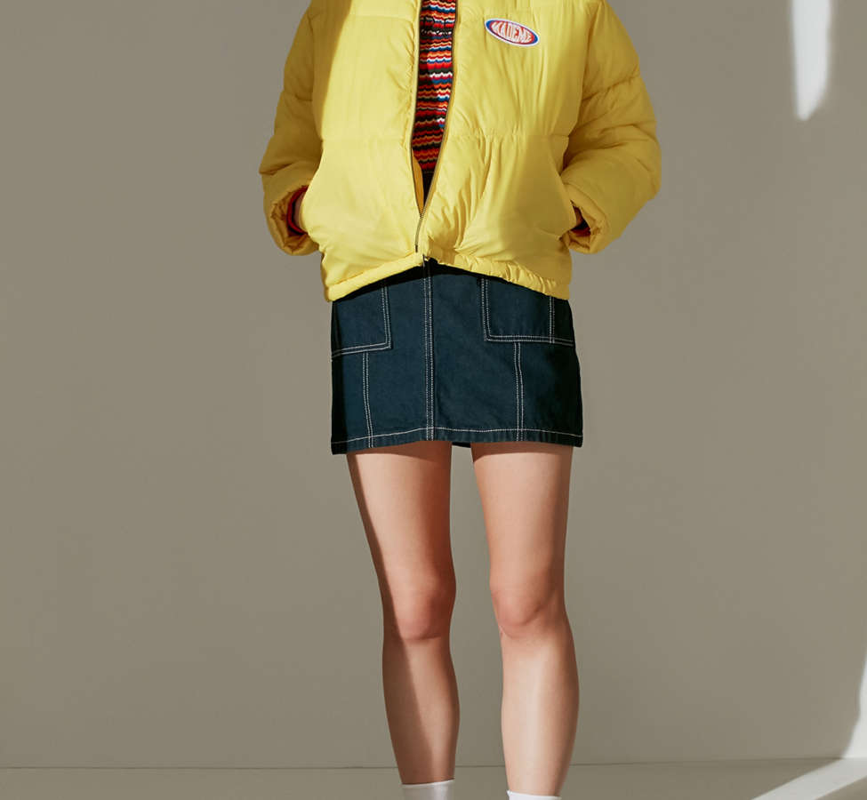Slide View: 3: MadeMe Puffer Bomber Jacket