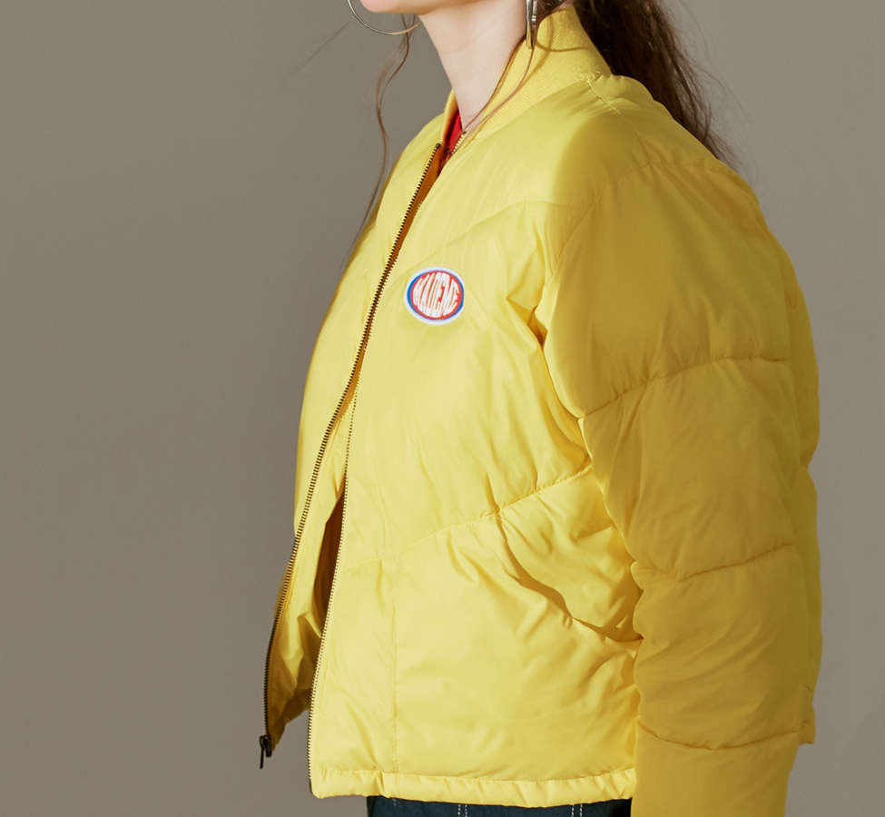 Slide View: 4: MadeMe Puffer Bomber Jacket