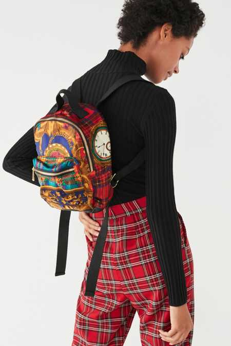 Beyond Retro Emma Mini Scarf Backpack