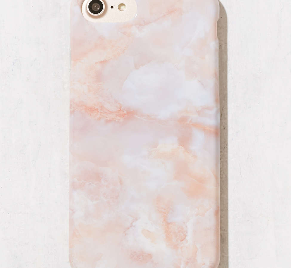 Slide View: 1: Rose Marble iPhone 8/7/6/6s Case