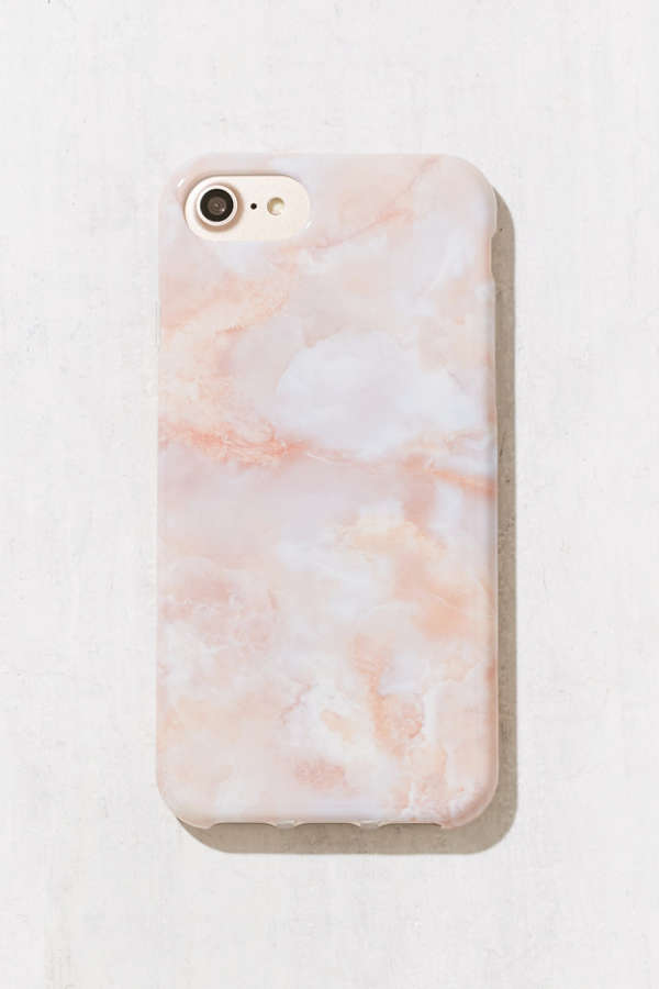 Rose Marble Iphone 8 7 6 6s Case Urban Outfitters Canada