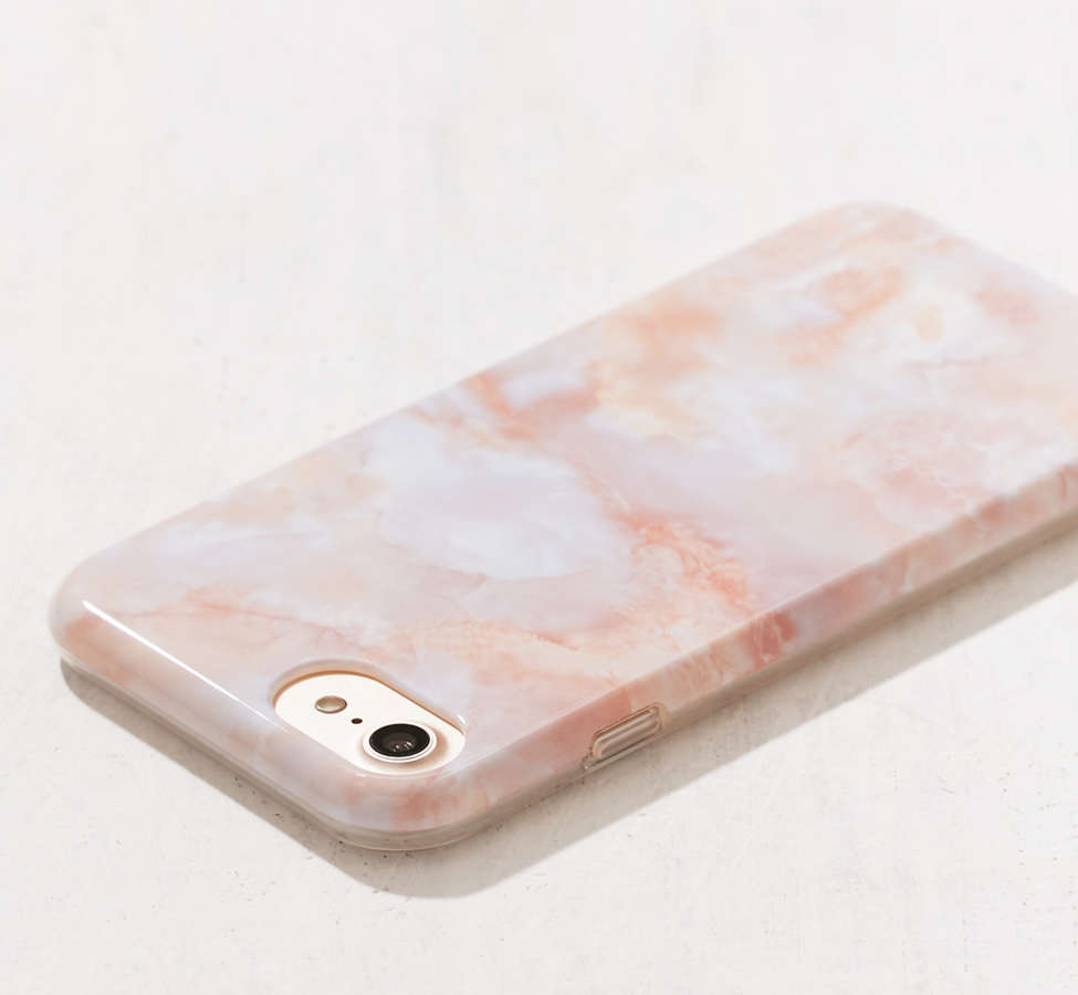 Slide View: 2: Rose Marble iPhone 8/7/6/6s Case