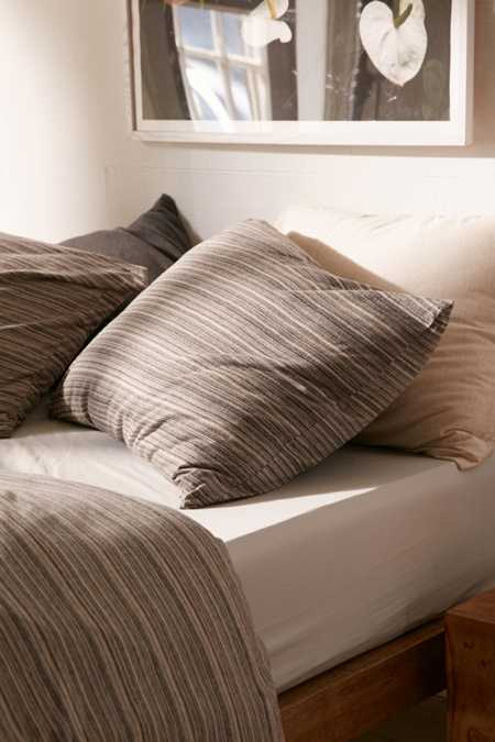 Corey Yarn-Dye Stripe Jersey Pillowcase Set