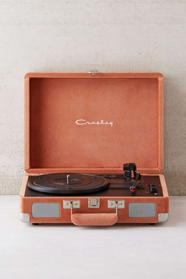 crosley x uo velvet cruiser bluetooth record player urban outfitters. Black Bedroom Furniture Sets. Home Design Ideas