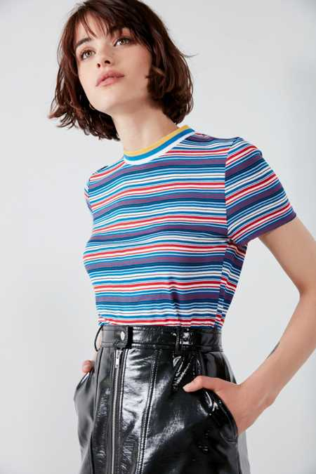 Project Social T Striped Tipped Tee