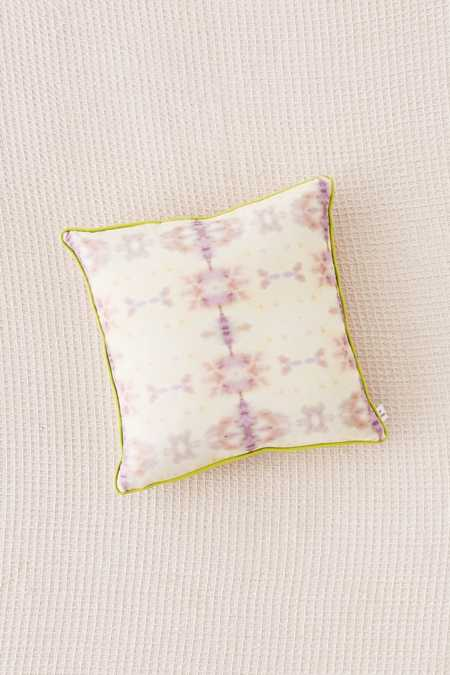 Mora Mirror Dye Throw Pillow