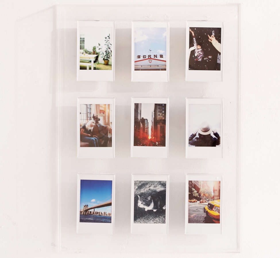 Slide View: 1: Instax Acrylic Gallery Multi Picture Frame