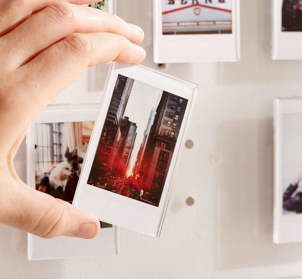 Slide View: 2: Instax Acrylic Gallery Multi Picture Frame