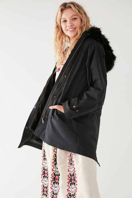 UO Harper Detachable Lining Parka Jacket