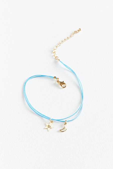 Corded Charm Anklet