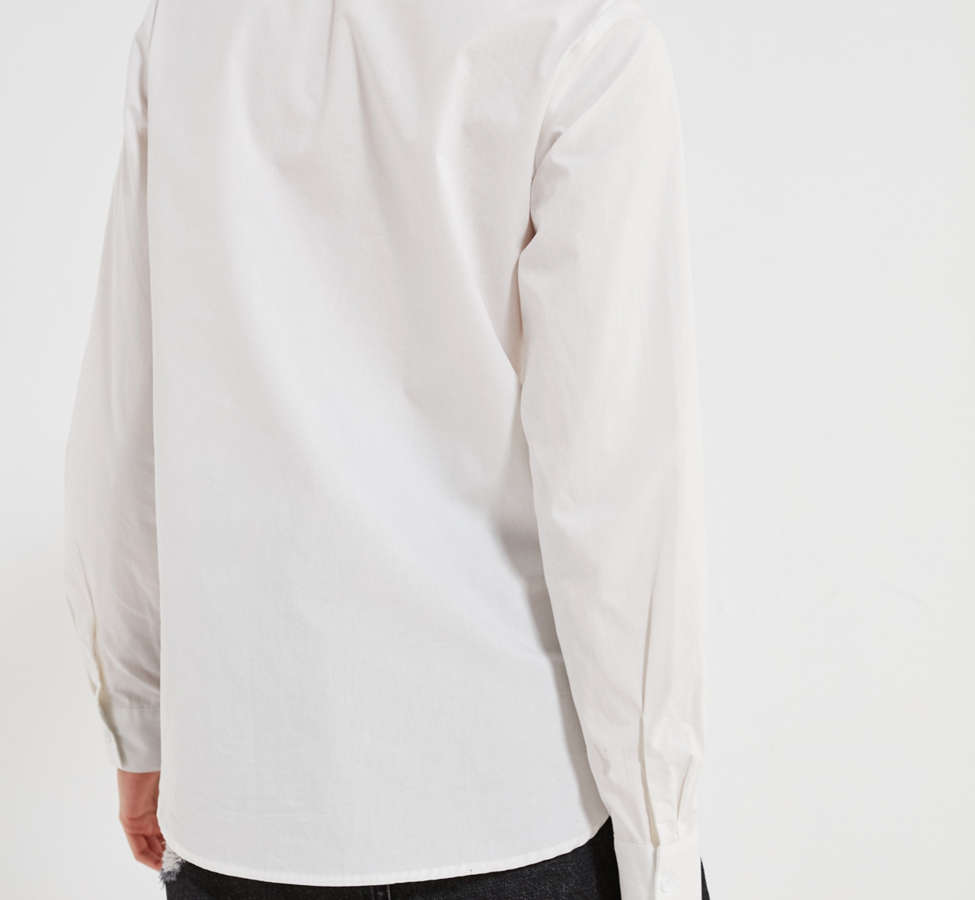 Slide View: 2: BDG Floral Embroidered Button-Down Shirt