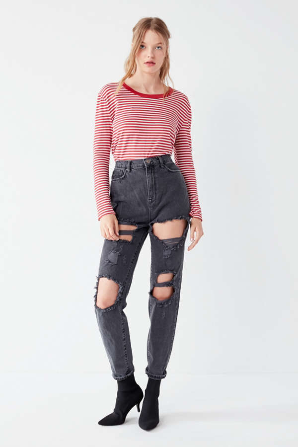 Bdg Mom Jean Blow Out Urban Outfitters