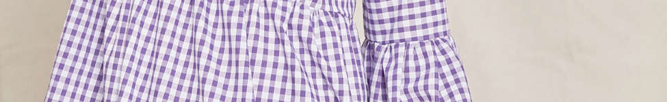 Thumbnail View 1: Urban Renewal Remade Bell-Sleeve Gingham Dress