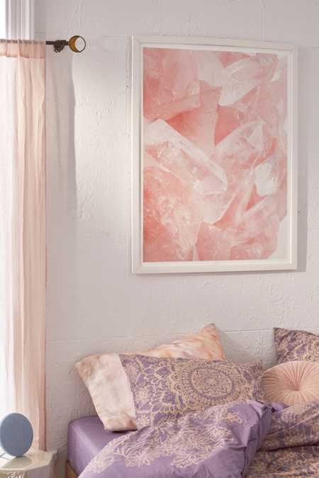 Honeymoon Hotel Love Quartz Art Print