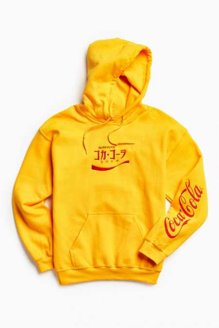 Coca-Cola Embroidered Hoodie Sweatshirt