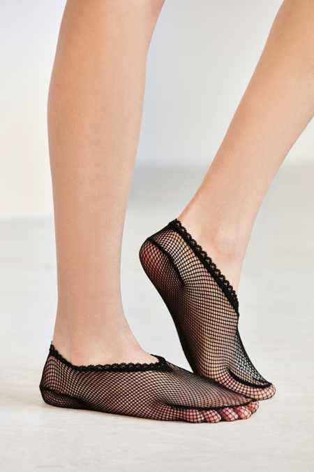 Basic Fishnet Liner Sock