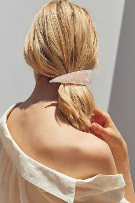 Abstract Triangle Hair Clip