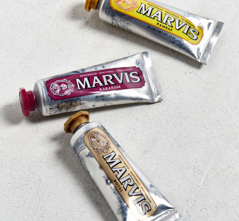 Slide View: 1: Marvis Wonders Of The World Toothpaste Set