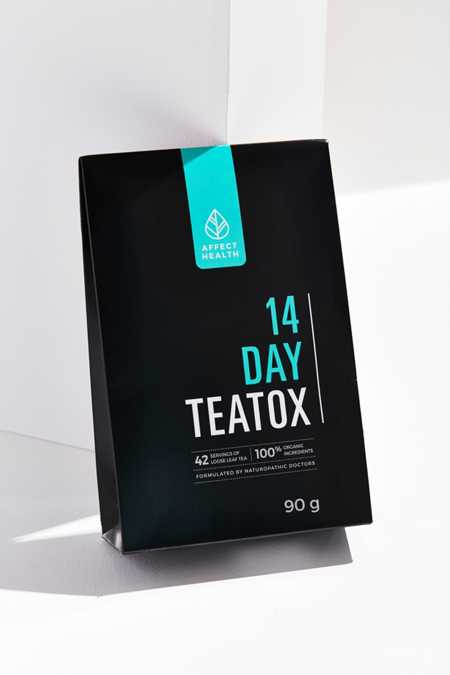 Teatox 14 jours + guide Total Detox Affect Health
