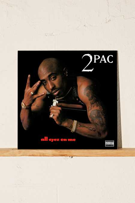 Slide View: 1: 2pac - All Eyez On Me 2XLP