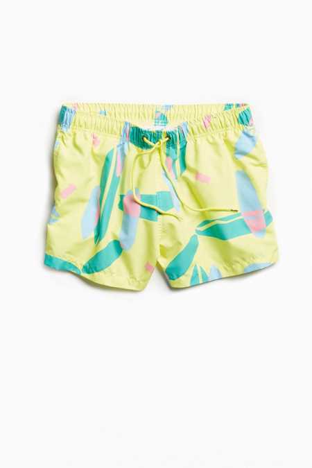 Boardies Ludo Yellow Shorties Swim Trunk