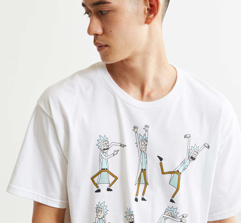 Slide View: 4: Rick And Morty Dancing Rick Tee