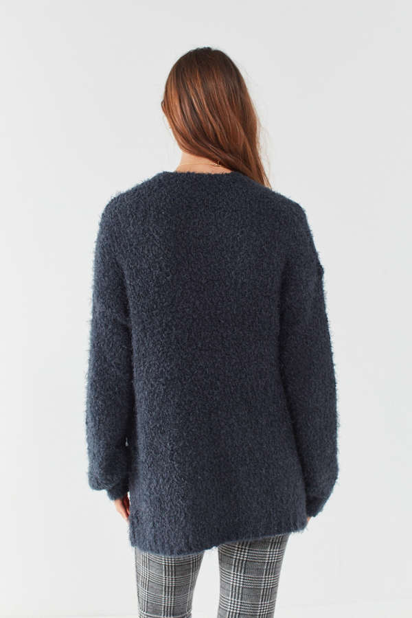 Ecote Elena Fluffy Cardigan | Urban Outfitters Canada