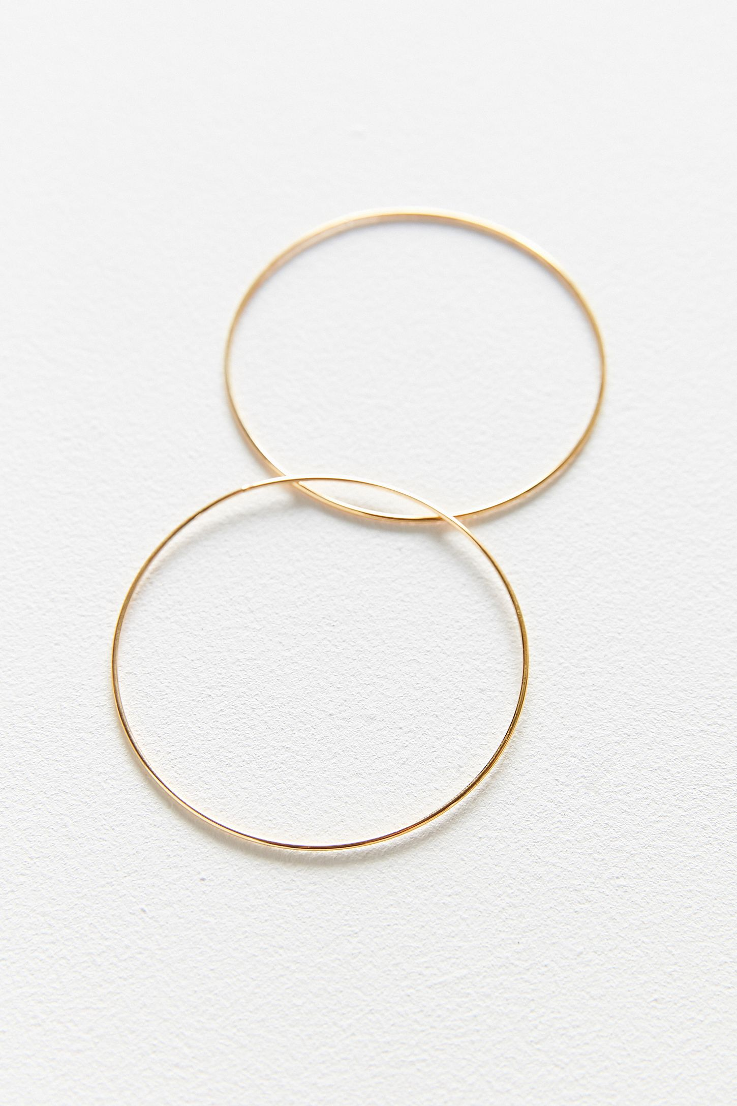circle sterling store silver earrings