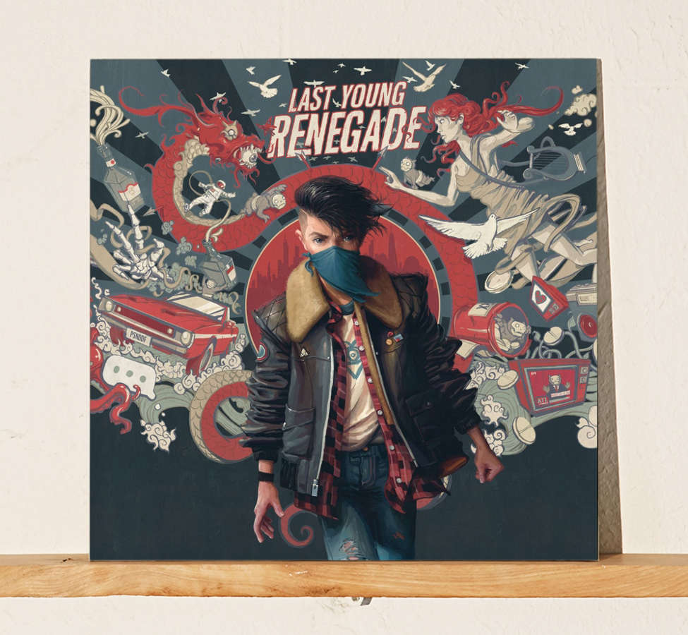 Slide View: 1: All Time Low - Last Young Renegade LP
