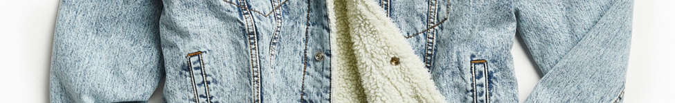 Thumbnail View 1: BDG Sherpa Denim Trucker Jacket